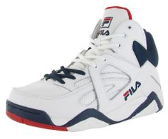 Fila Shoes & Clothing by Streetmoda.com - Fila The Cage Men's Basketball Shoes Sneakers Grant Hill