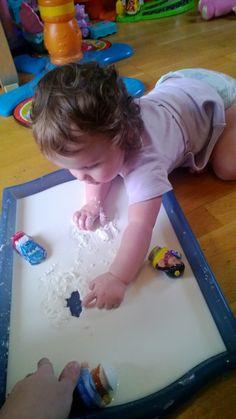 OneBlueOnePink: Gloop! Very messy play!