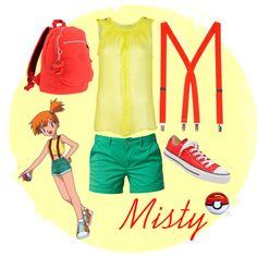 Misty inspired outfit (Pokémon)