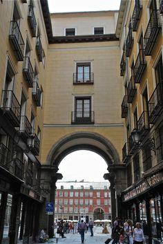 Plaza Mayor.Madrid.Spain.  Photo:T.Graffe