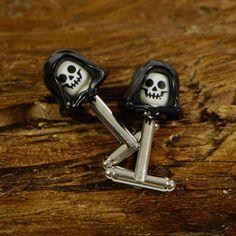 Halloween Skull Cufflinks Glow In The Dark Cufflinks - Boys Cufflinks For Weddings Cool Lego, Awesome Lego, Halloween Ball, Skull Head, Lego Brick, Gifts For Kids, The Darkest, Cufflinks, Glow