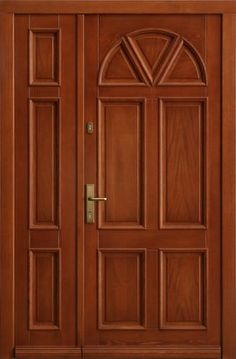 1000 images about portes en bois on pinterest double - Porte d entree bois massif ...