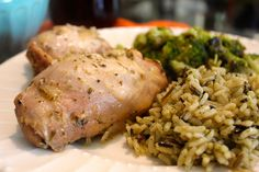 Citrus and Herb Roasted Chicken-The Fireman's Wife Food Blog