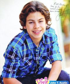 Jake T. Austin ~ Wizards Of Waverly Place
