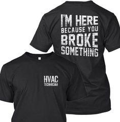 Hvac tech - http://www.hvac-hacks.com/hvac-tech-6/