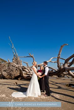Driftwood beach in Jekyll Island...our ceremony location :)