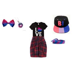 Bisexual pride Bisexual Pride, Shoe Bag, Polyvore, Stuff To Buy, Shopping, Collection, Design, Women