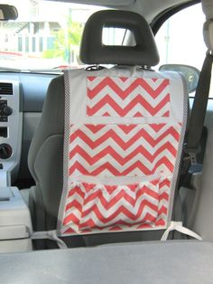Awesome kid car organiser Should make for the trip to that place we're going that time. (Clare will understand this)