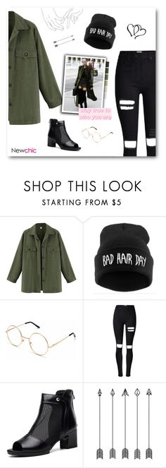 """""""She Ran Through The Fields Young Wild & Free - Newchic XXVIII"""" by paradiselemonade ❤ liked on Polyvore"""