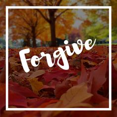 How to forgive during the 10 days of awe
