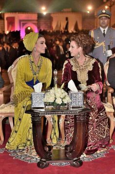 Lalla Salma du Maroc et Sheikha Mozah somptueuses à Fès