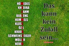 Diese Fußball-Aufstellung kann kein Zufall sein. WELTMEISTER kann nur Deutschland werden. WM WIN-Bild