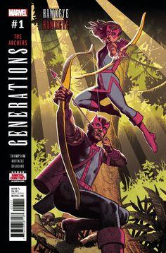 Generations Hawkeye and Hawkeye (2017) Issue #1