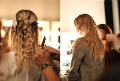 create wavy hair without heat - must know beauty hack every busy girl should know