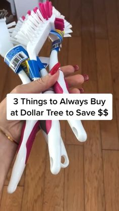 Diy Home Cleaning, Household Cleaning Tips, House Cleaning Tips, Diy Cleaning Products, Cleaning Hacks, Dollar Store Hacks, Dollar Store Crafts, Dollar Stores, Saving Ideas