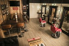 We are so proud of our barbershop and whiskey bar. Thanks a lot to Mattafeller fot the badass photoshoot. Barber Shop Interior, Barber Shop Decor, Shop Interior Design, Interior Decorating, Pub Design, Local Barber Shop, Best Barber Shop, Barbershop Design, Barbershop Ideas