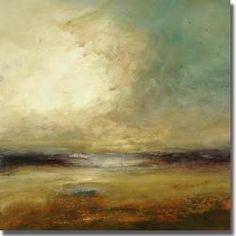 Lisa Ridgers 'New Land' Canvas Art 35 in. H x 35 in. W  $184.99