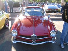 A late 50's Alfa Romeo Giulia SS.  The showcar you could buy.