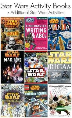 Star Wars Activity Books + Other FREE Star Wars Activities!