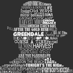 """""""PSYCHEDELIC""""    Neil Young will be on tour in Germany this summer!! This piece of art, showing him as a silhouette filled with all his album titles, is available on my website as poster, canvas-print and/or alu-dibond in various sizes."""