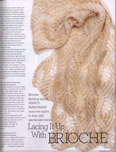 Vogue Knitting International - Holiday 2014 - Brioche Knitting - Nancy