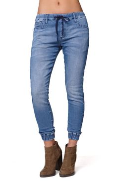 CELEBRITY PINK Womens Denim Jogger Pants.. well these look ...