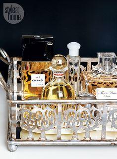 Organizador de perfumes