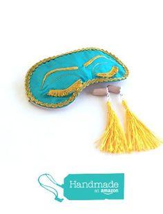 Handmade Breakfast at Tiffany's Eyelashes Sleep Mask Tassel Ear Plugs Set Holly Golightly Audrey Hepburn Inspired Bachelorette Party Mask. from Shushbear https://www.amazon.com/dp/B01GZBLNCG/ref=hnd_sw_r_pi_dp_2QUxxbCEPPFGD #handmadeatamazon