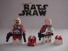 Lego Star Wars Minifigures Clone Custom Commander Ganch | eBay