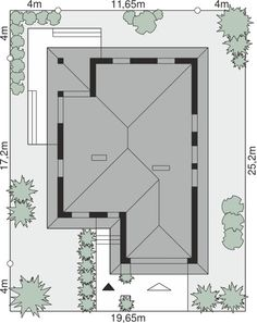 Sytuacja Dom przy Pastelowej 7 bis CE House Plans, Mirror, Furniture, Home Decor, Houses, Blueprints For Homes, Homemade Home Decor, Home Plans, Mirrors