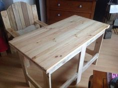 DIY Pallet Office #Furniture ---- Affordable!! | 99 Pallets