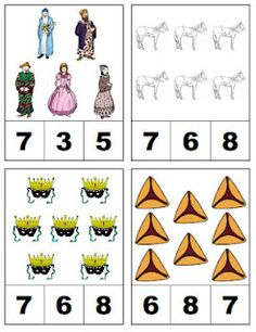 Purim Counting Game
