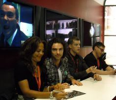 Being Human at Comic Con 2009 - Lenora, Aidan, Russel and Toby