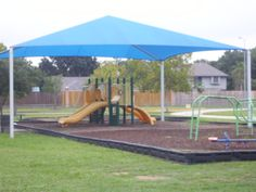 We cover children too from UV rays! check out our shade structure for the school playgrounds! #canopies #awnings #polytex #polyfab #shadestructure