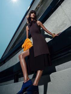 visual optimism; fashion editorials, shows, campaigns & more!: mica arganaraz by sebastian kim for vogue spain november 2014