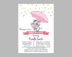 Hey, I found this really awesome Etsy listing at https://www.etsy.com/listing/263785405/baby-shower-invitation-baby-sprinkle
