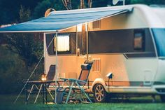 Cleaning your awning can be a chore, but it is necessary. Here you will learn the fastest and best way to clean your RV awning and get a FREE. Camping In Texas, Rv Camping, Camping Tricks, Teardrop Trailer, Rv Tv Mount, Wall Mount, Best Rv Parks, Camper Rental, Rv Campgrounds