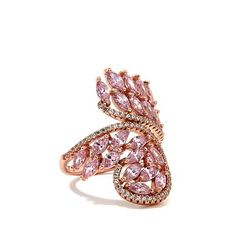Jean Dousset Absolute™ and Simulated Pink Sapphire Ring