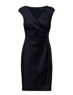 Lauren Ralph Lauren TABORA - CAP SLEEVE DRESS Cap Sleeves, Dresses With Sleeves, Ralph Lauren, Shopping, Black, Style, Fashion, Swag, Moda