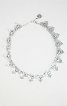 SULTANS SAW TRIANGLE LINK NECKLACE