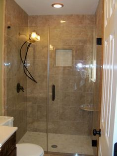 Small Bathroom Remodel Psssh Small Bathroom Hot Damn Ill Take That Shower Any Day