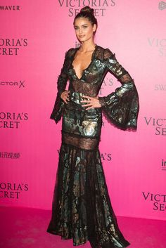All the Looks from the Victoria's Secret Fashion Show After Party Taylor Hill looked *amazing!*