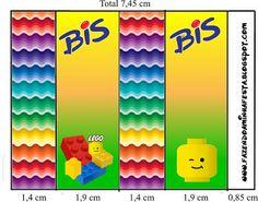 Lego - Kit Completo com molduras para convites, rótulos para guloseimas, lembrancinhas e imagens! - Fazendo a Nossa Festa