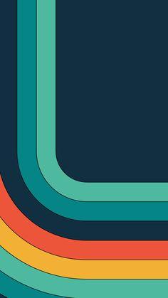 Modern Material Design FHD Mobile Wallpaper 52 – Vactual Papers – My Company Retro Wallpaper, Mobile Wallpaper, Wallpaper Backgrounds, Iphone Wallpaper, Chevron Wallpaper, Wallpaper Quotes, Retro Color, Retro Art, Motif Vintage