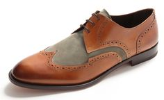Bruno Magli Longwing Oxford Shoes
