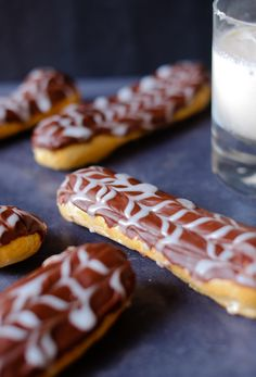 White Russian Eclairs | Patisserie Makes Perfect