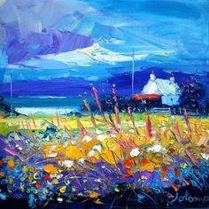 John Lowrie Morrison - Eveninglight over Isle of Gigha