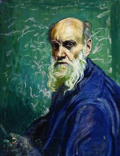 Autorretrato (Self-Portrait), 1958, Dr. Atl (Gerardo Murillo). Oil on board laid down on Masonite. Estimate $150,000 to $250,000.