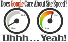 Does Google Care About Your Site's Loading Speed? Hell YES!  Follow the Link: to Test Your Site's Speed, for a Quick Fix, Tools and Resources to Help You Gain Faster Loading Times!  http://johneengle.com/google-cares-about-site-speed/  #Google, #NetworkMarketing, #SiteSpeed