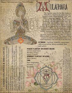 The First Chakra (Muladhara / Base/ Root Healing Meditation, Yoga Meditation, Root Chakra Meditation, Root Chakra Healing, Healing Spells, Chakra Raiz, Les Chakras, Chakra System, Book Of Shadows
